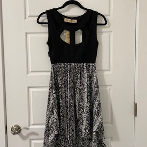 Women's High-Low Summer Dress with Cut-Outs